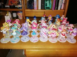 Lot of 34 Pretty Cure Precure Cutie Figure Doll set Used - $239.99