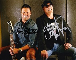Montgomery Gentry Group Signed Photo 8X10 Rp Autographed Troy & Eddie - $19.99