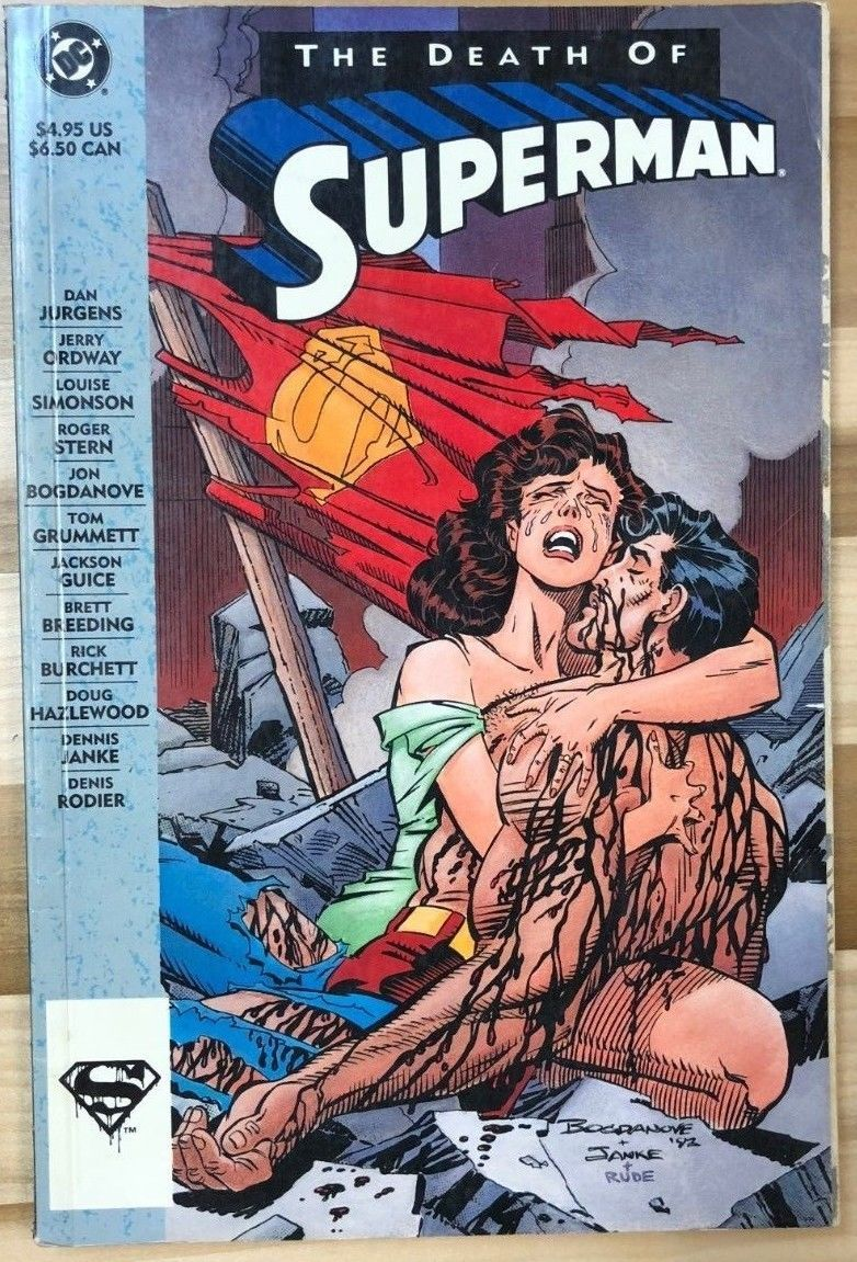 Primary image for THE DEATH OF SUPERMAN (1993) DC Comics TPB VG+