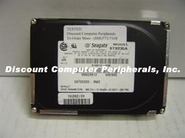 """Seagate ST9235A 209MB 2.5"""" 19MM IDE Drive Free USA Ship Our Drives Work - $17.59"""