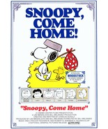 Snoopy Come Home Collectible Movie Stand-Up Display - Animation Comedy H... - $15.99