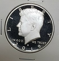 2019 S First .999 Fine Silver Kennedy Half Dollar Proof Coin