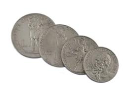 1934 Vatican Ville 20c À 2L Pièce de Monnaie plein De 4 - $49.18