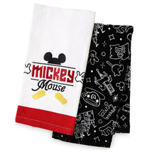 Disney Parks I Am Mickey Mouse Body Parts Dish Kitchen Towel Set New With Tag - $25.86