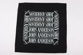 Vintage 80s Jahre John Anderson Band Country-Musik Überall Bedruckt Kopf... - $29.65