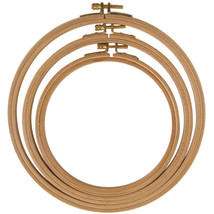 """Frank A. Edmunds Hand Or Machine Embroidery Hoop-8"""" - $10.64"""