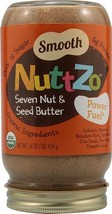 NuttZo Organic Seven Nut & Seed Butter Smooth -... - $51.07