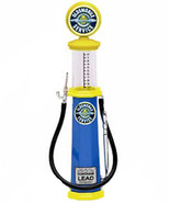 Yat Ming 1:18 diecast model gas pump Oldsmobile Service yellow blue cyli... - $12.99