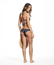 Vi X Swimwear 'Dots' Black Seamless Basic Cheeky Bikini Bottom (M) Nwt $88 - $88.00