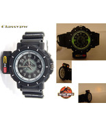 JURASSIC PARK TLW T-REX FLASHBEAM Watch for Men BLACK - $29.02