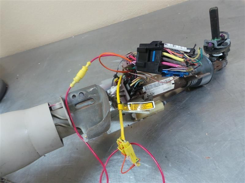 94 SEVILLE STEERING COLUMN FLOOR SHIFT W/CONSOLE OPT D55 32684