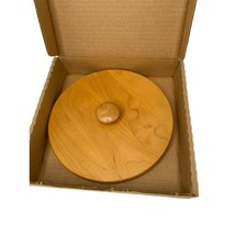 """Longaberger Woodcrafts 7"""" Basket Lid Only New In Box - $24.99"""