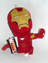 "Iron Man Avengers Deformed Plush Doll Marvel 7"" Tony Stark Large Head Re... - $12.86"