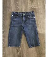 Levi's Denim Shorts Size 6X regular - $12.99