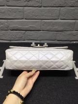 AUTHENTIC Chanel Classic 2.55 Reissue 226 Double Flap Bag Beige GHW image 3