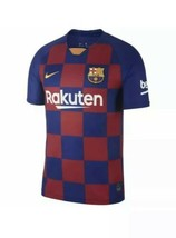 Nike Mens FC Barcelona 2019-20 Home Jersey Size Small AJ5532-456 NWT - $69.00