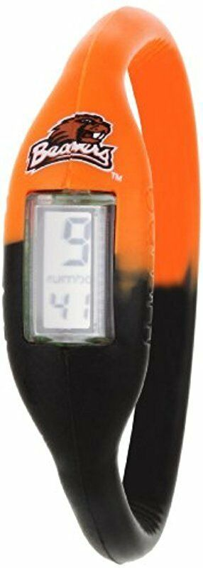Rumba Time Orange Oregon State University Beavers Digital Silicone Watch Small