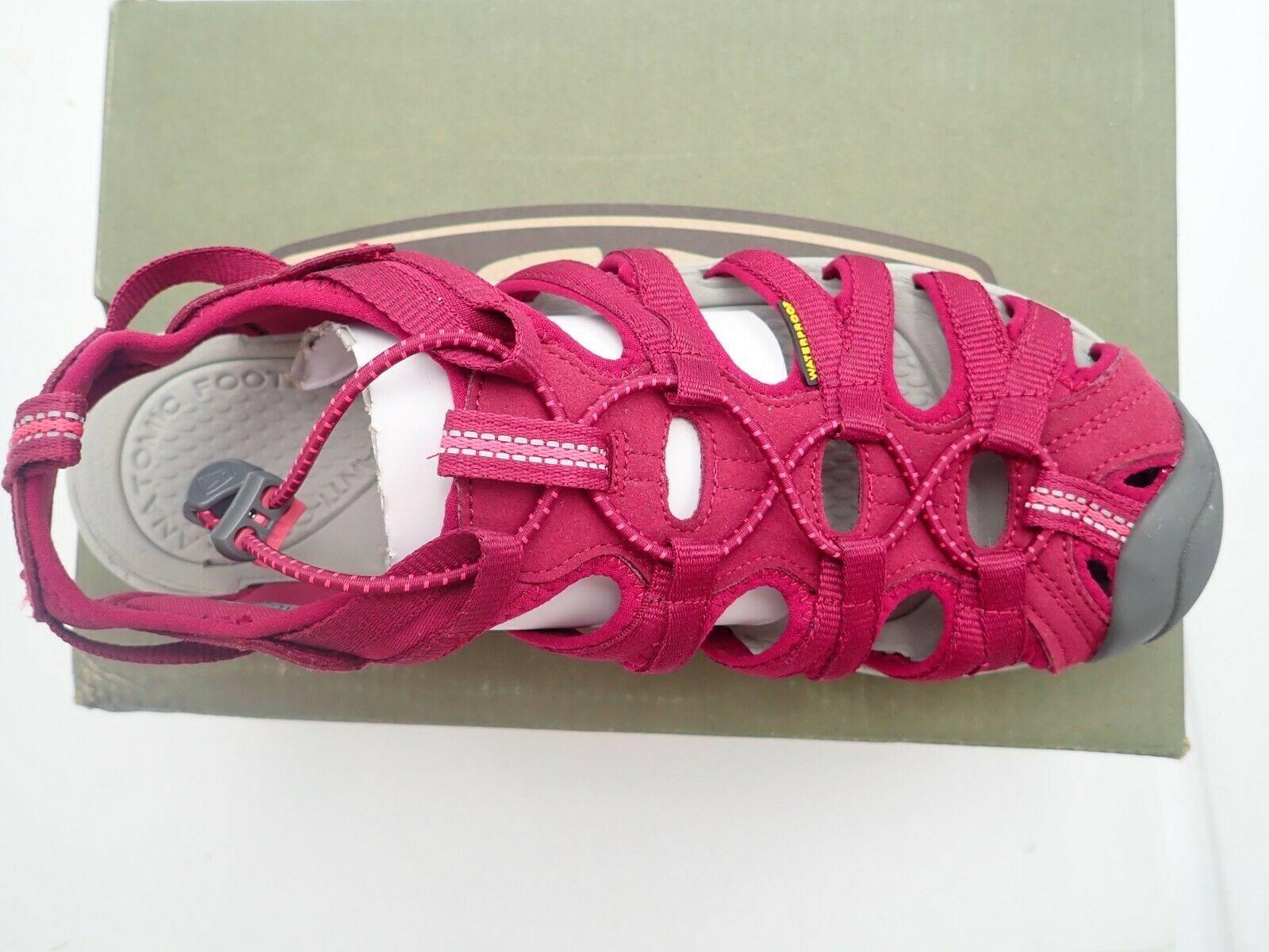 One Single Left Sandal size 10 M KEEN Women's Whisper Sandal,Beet Red No right!