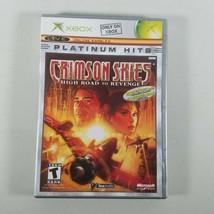 Crimson Skies High Road to Revenge Xbox 2003 Platinum Hits Rated T Teen - $7.50