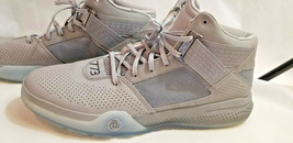 Adidas D Rose 773 IV Men Shoes RARE Size 18 silver grey Gray Basketball ... - $79.19