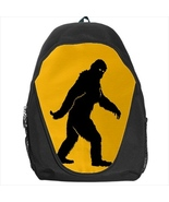 backpack sasquash bigfoot big foot legendary monster cult school bag bookbag  - $39.79
