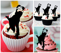 50th Anniversary Wedding,Birthday Cupcake topper,silhouette we still do : 10 pcs - $10.00