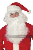California Costumi Babbo Natale Barba & Parrucca Natale Vacanza Costume ... - £13.71 GBP