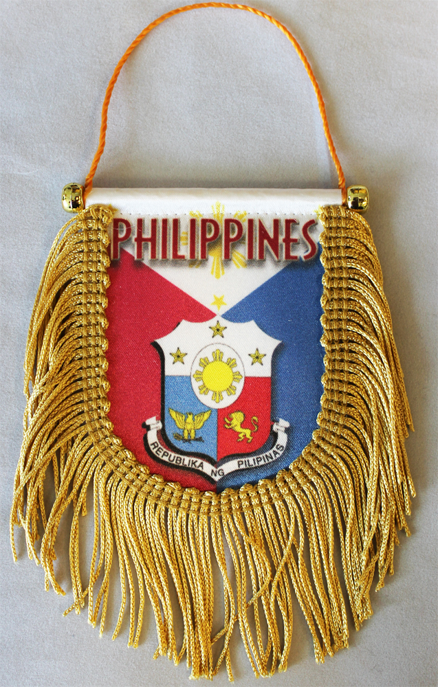Philippines fringed banner