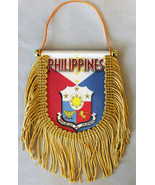 Philippines Window Hanging Flag (Shield) - $8.39