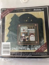 Mill Hill Buttons & Beads Winter Series Cross Stitch Kit Holiday V 1997 Nip - $9.98