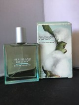 Bath Body Works SEA ISLAND COTTON Eau de Toilette Spray Women - 1.7 oz -... - $39.59