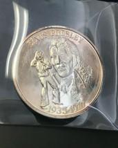 Elvis Presley 1 oz.999 Fine Silver Medal 1935-1977 - $63.50