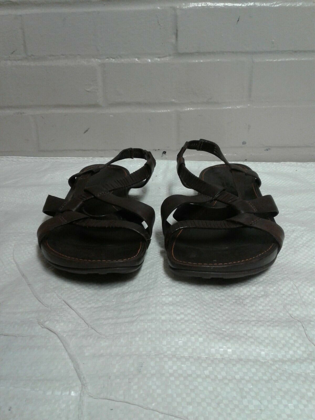 Primary image for Women's Timberland Brown Size 9.5M Open Toe Sandals Shoes