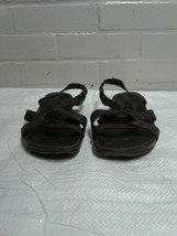 Women's Timberland Brown Size 9.5M Open Toe Sandals Shoes - $12.42