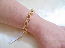 """Charter Club 6.5-7.5t""""Gold Tone Bubble Link Bracelet R258 - $12.47"""
