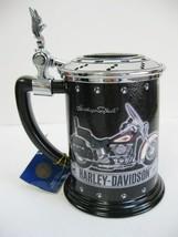 2000 Harley Davidson Eagle Heritage Softail Classic Tankard Stein Frankl... - $29.99
