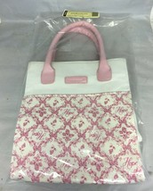Longaberger 2005 Horizon Of Hope Tote Bag White And Pink New In Bag - $9.80