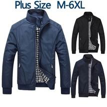 Casual Jacket Men Overcoat Jackets Male Outwear Windbreaker Coat Elegant... - $52.84