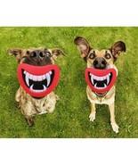 Squeak Dog Toys Durable Safe Funny Devils Lip Sound Chewing Puppy Suppli... - $6.39