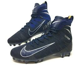 Nike Vapor Untouchable 3 Elite Mens Football Cleats Size 11 Blue AH7408 ... - $89.99
