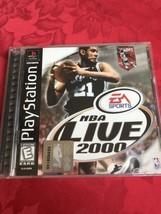 Ps1 Playstation 1 Nba Live 2000 Game - $3.99