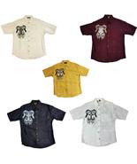 Men's Western Shirt Horses and Cross Design Short Sleeve - €27,42 EUR