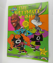 Space Jam Giant Sized Coloring Book Unused Landoll's 90s Vintage No Poster - $7.84