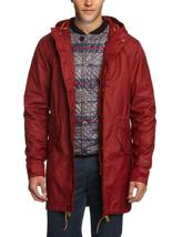 NEW LEVI'S MEN'S PREMIUM 3 WAY HOODED PARKA JACKET COAT RED 718520003 MSRP: $278 image 3