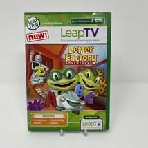 LeapFrog LeapTV Letter Factory Adventures Educational Video Game 3 to 5 ... - $12.38