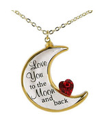 """""""Love You To The Moon"""" Pendant Necklace - $28.99"""