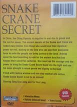 Snake and Crane Secret Dvd image 2