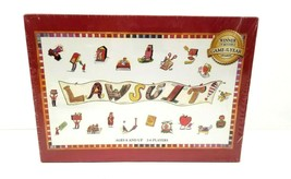 LAWSUIT!  Legal Law Board Game Family Fun Lawyer Attorney Court Award-Wi... - $29.95