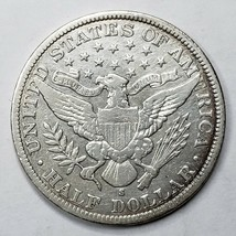1903S Silver Barber Half Dollar Coin Lot A 191 image 2