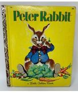 The Tale Of Peter Rabbit A Little Golden Book 505 1958 Beatrix Potter 19-421 - £8.47 GBP